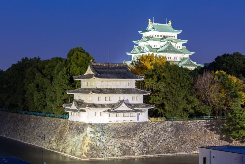 Castello di Nagoya fotografia stock libera da diritti