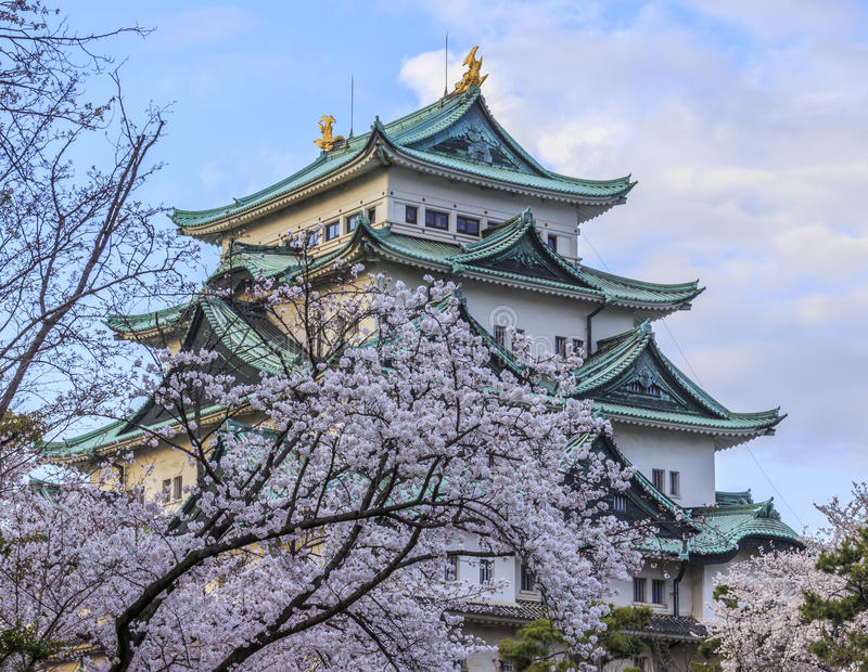 Castello 3 di Nagoya immagine stock