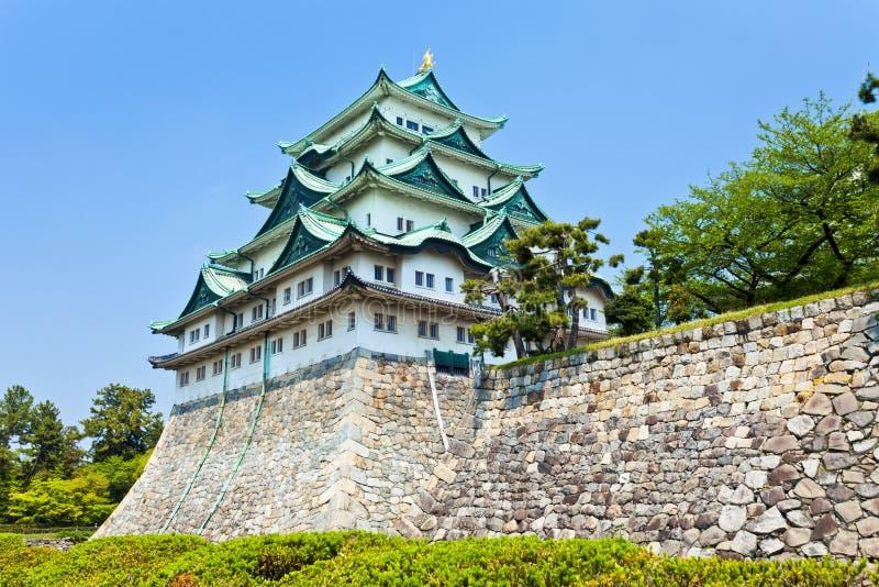 Castello di Nagoya nel Giappone fotografia stock libera da diritti