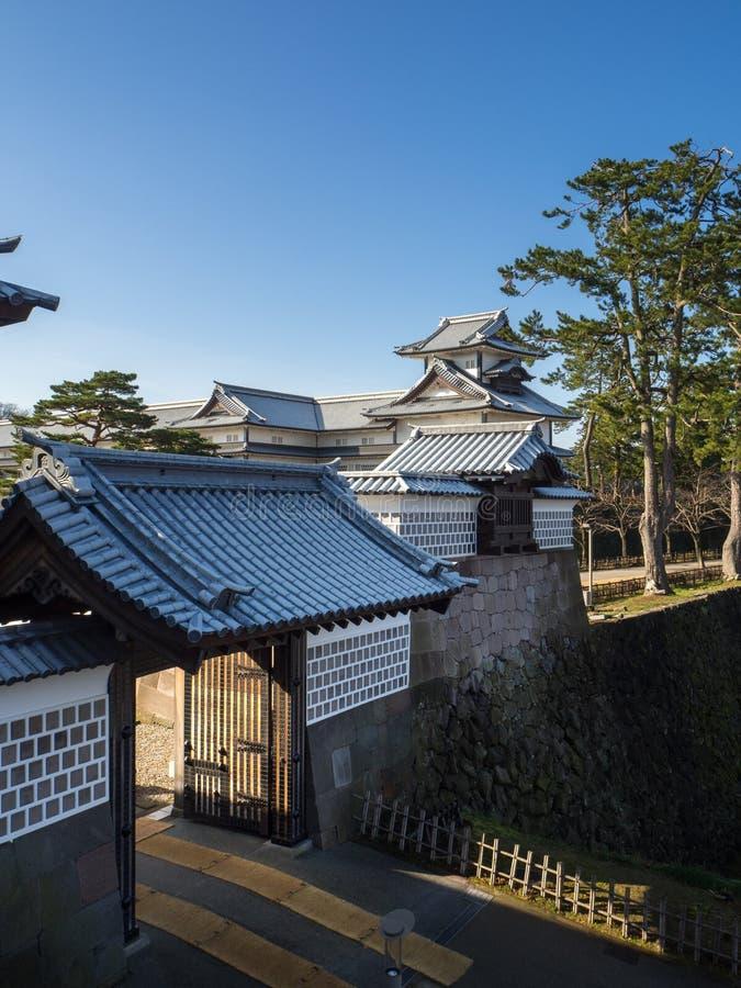 Castello di Nagoya nella città di Nagoya, prefettura di Aichi, Giappone immagini stock libere da diritti