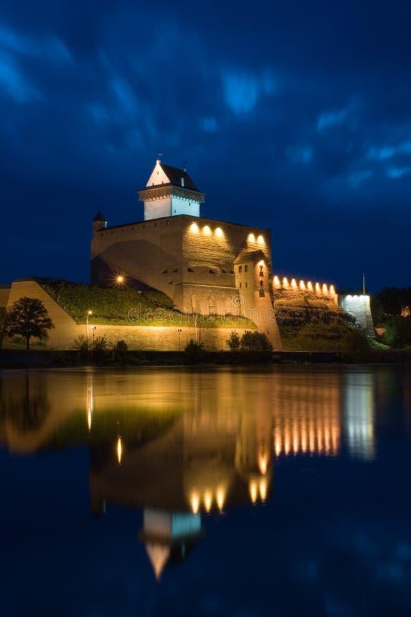 Castello di Narva Herman fotografia stock libera da diritti