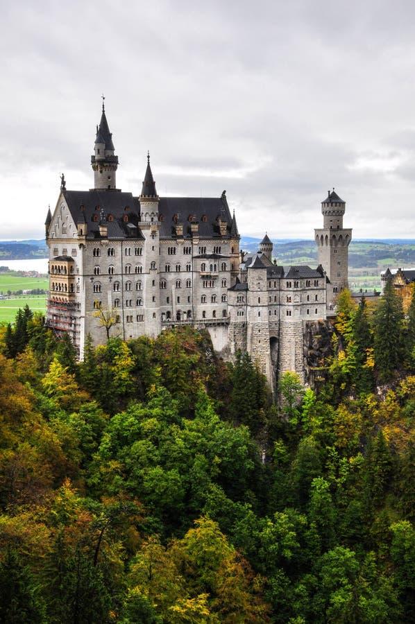 Castello di Neuschwanstein fotografia stock libera da diritti