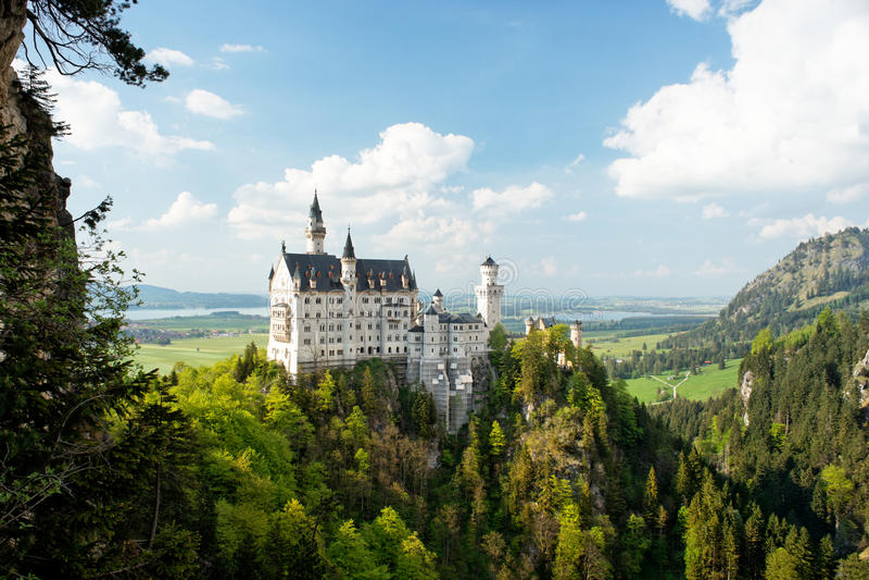 Castello di Neuschwanstein, Germania immagine stock libera da diritti