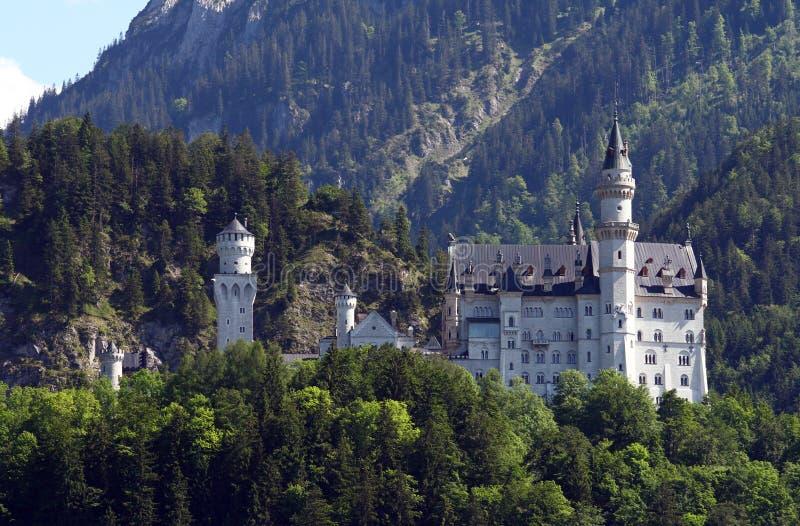 Castello di Neuschwanstein, Germania immagine stock