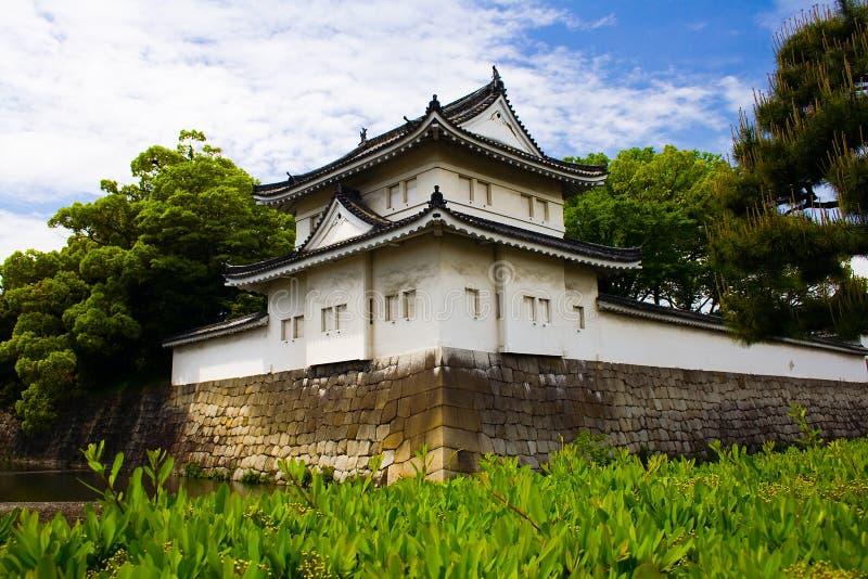 Castello di Nijo, Kyoto, Giappone fotografia stock libera da diritti