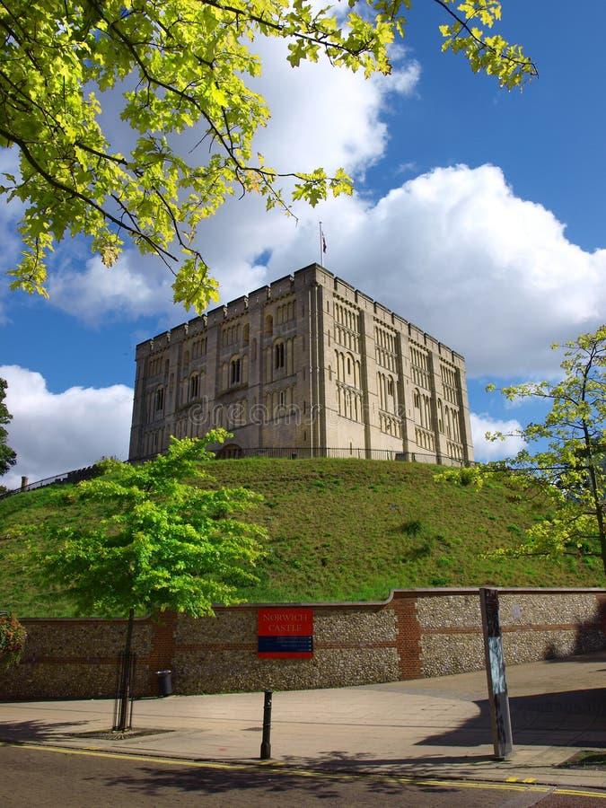 Castello di Norwich fotografie stock libere da diritti