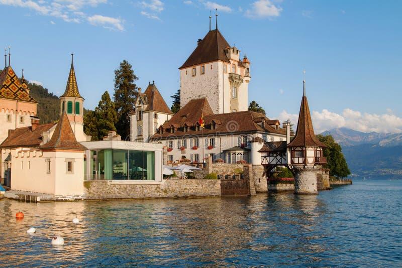 Castello di Oberhofen fotografia stock