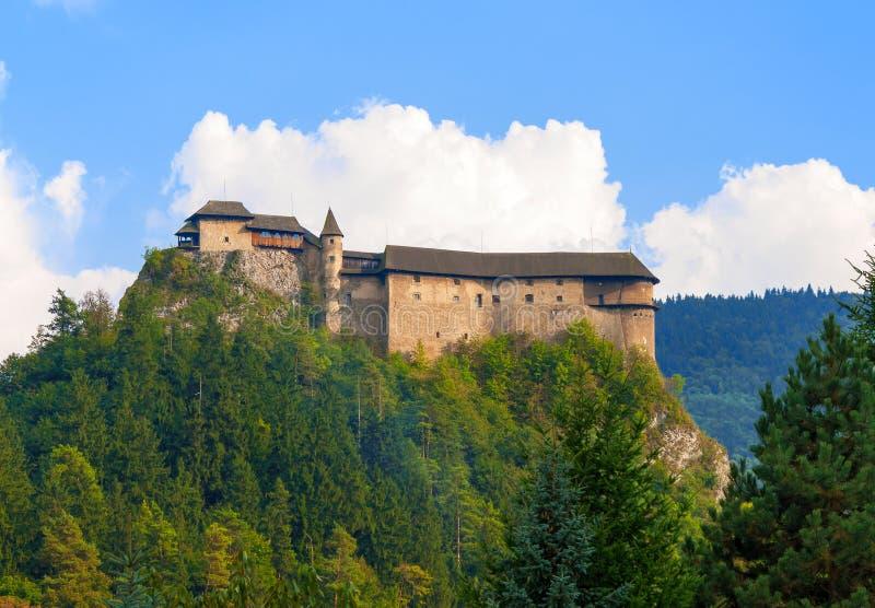 Download Castello Di Oravsky In Slovacchia Immagine Stock - Immagine di protetto, nubi: 55365753
