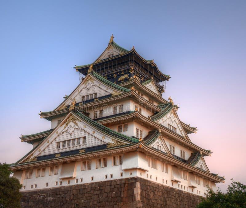 Castello di Osaka immagini stock libere da diritti