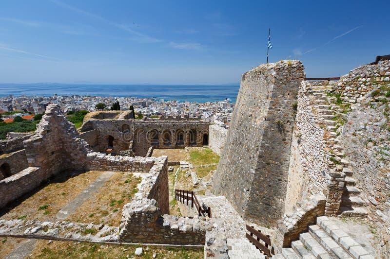 Castello di Patrasso fotografia stock libera da diritti