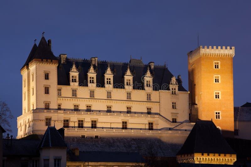 Castello di Pau immagine stock