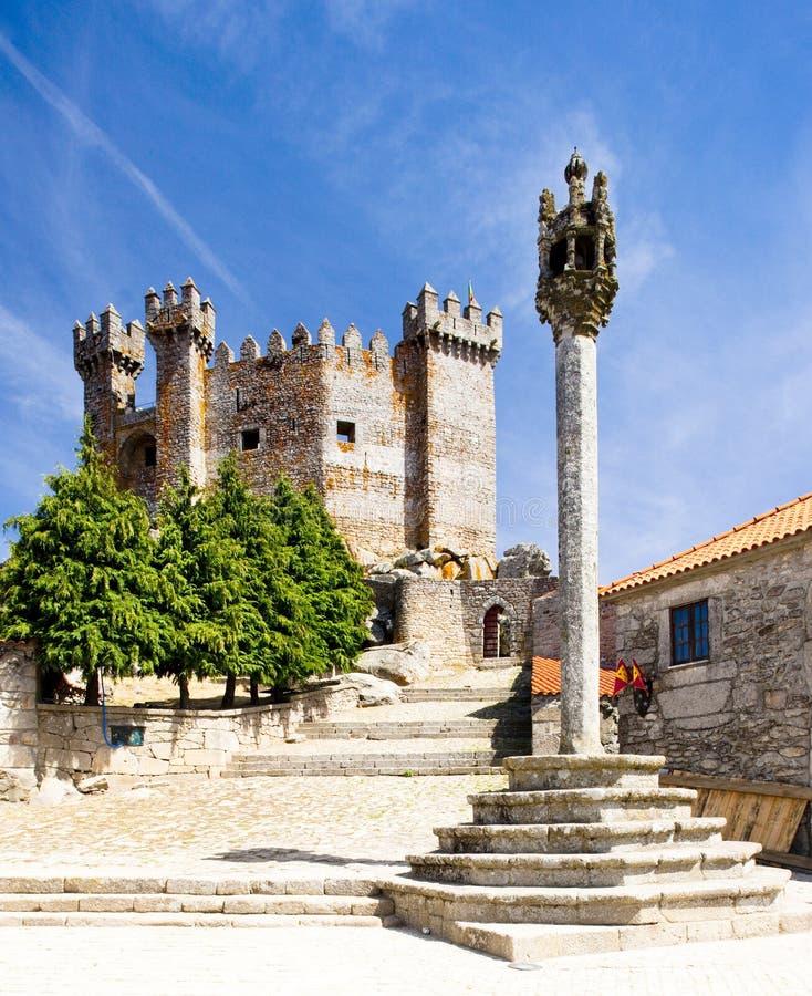 Castello di Penedono immagine stock