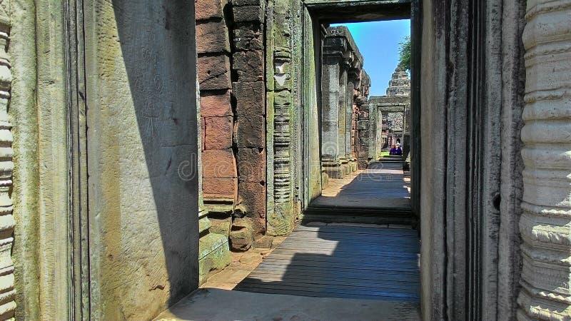 Castello di Phimi in Tailandia fotografia stock libera da diritti