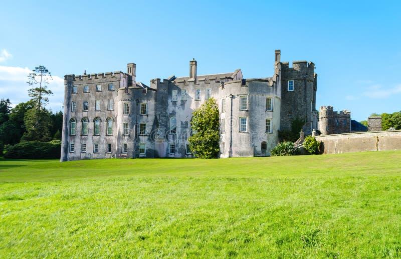 Castello di Picton in Haverfordwest - Galles, Regno Unito fotografie stock libere da diritti