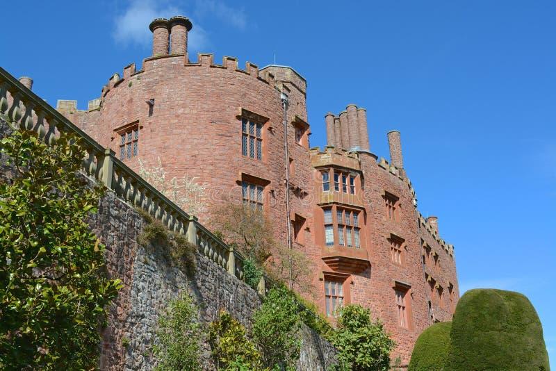 Castello di Powis fotografia stock