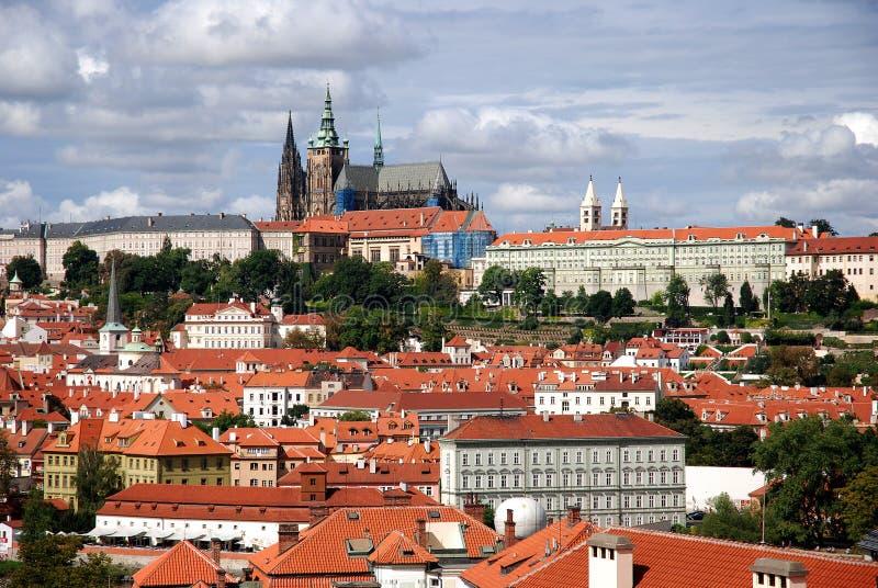 Castello di Prag fotografie stock libere da diritti