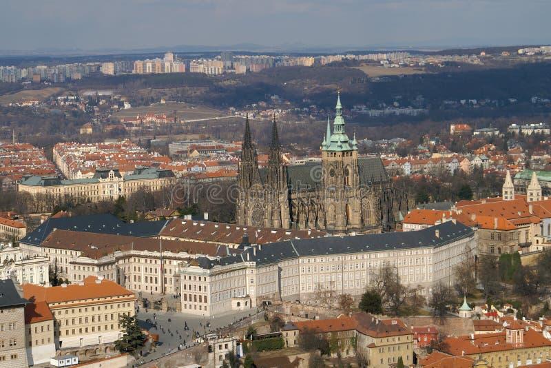 Castello di Praga immagine stock