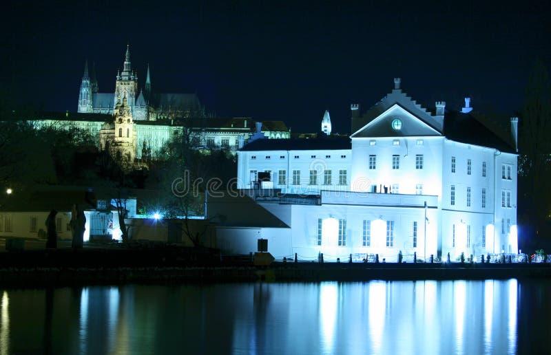 Download Castello di Praga fotografia stock. Immagine di praga - 3891926