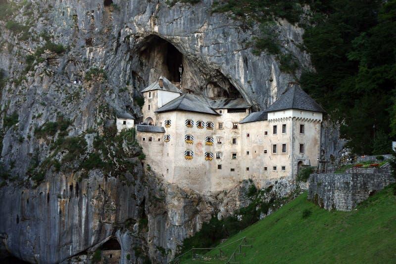 Castello di Predjama immagini stock