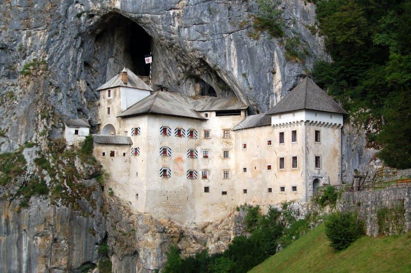 Castello di Predjama immagine stock
