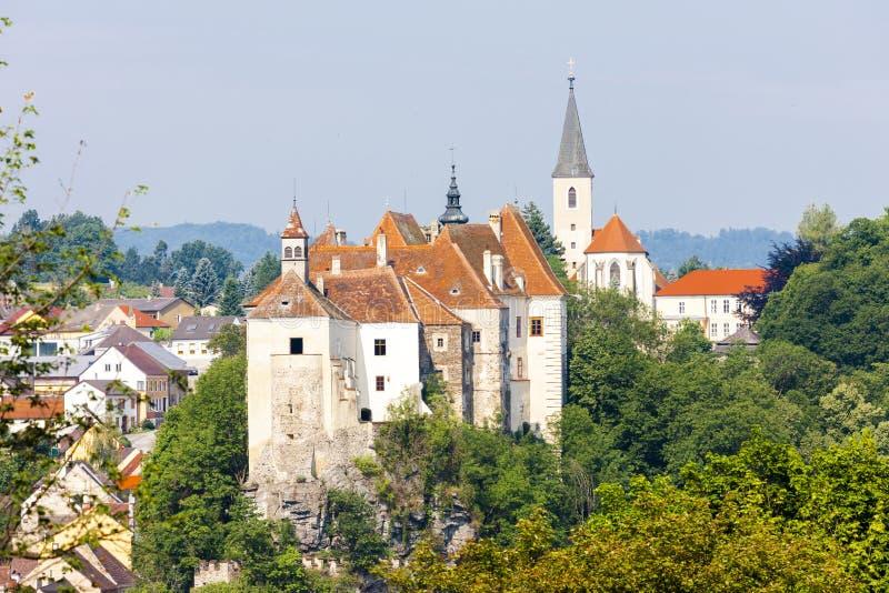 Castello di Raabs un der Thaya immagine stock libera da diritti