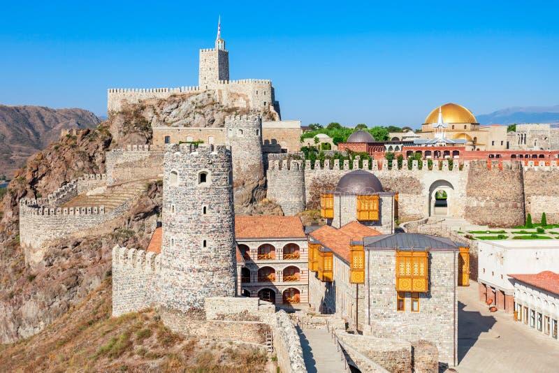 Castello di Rabati, Georgia fotografia stock