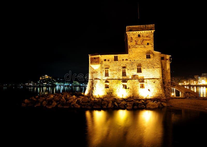 Castello di Rapallo, Liguria, Italia stock photography