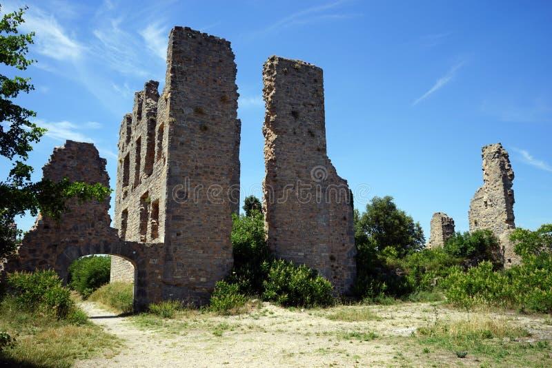 Castello di rinascita di Tourves immagini stock