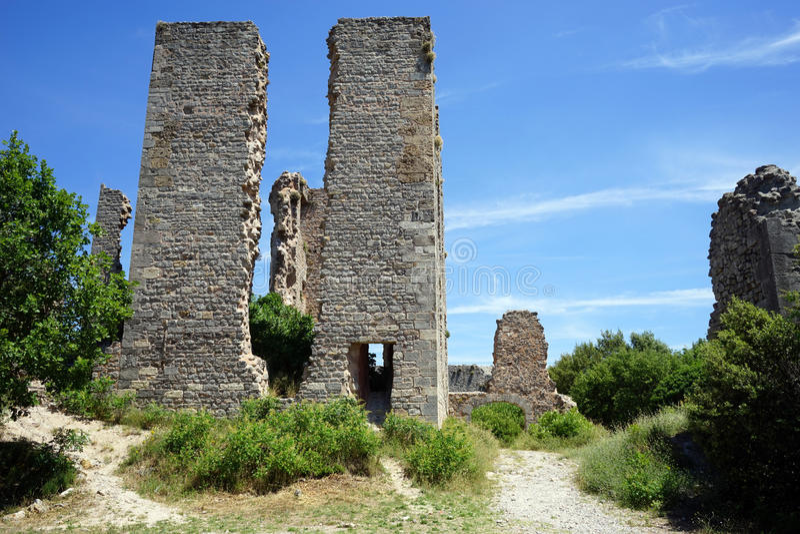 Castello di rinascita di Tourves fotografia stock libera da diritti
