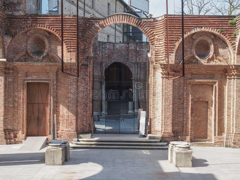 Castello Di Rivoli royalty-vrije stock foto's