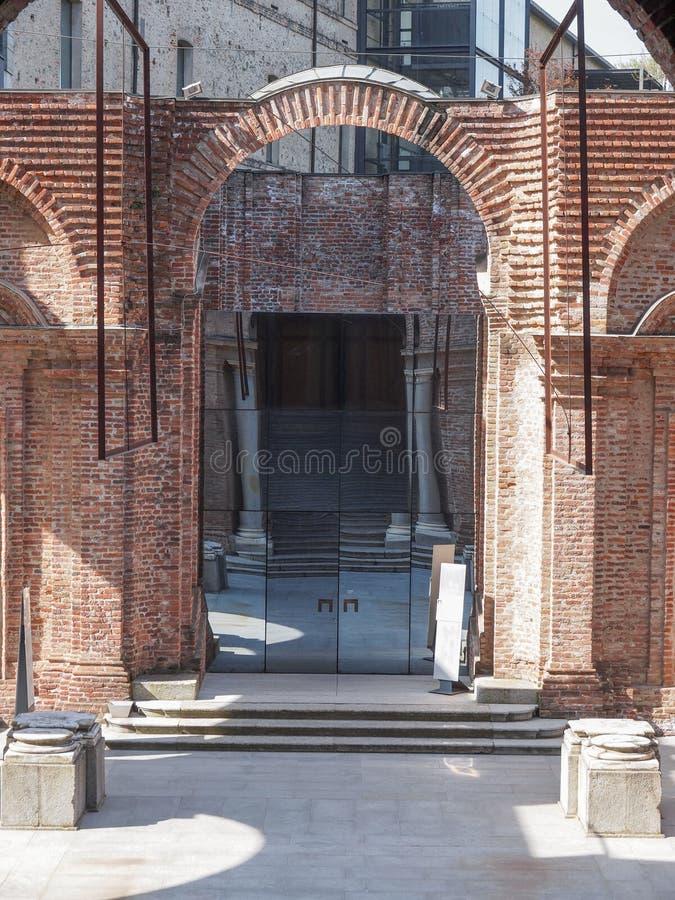 Castello Di Rivoli royalty-vrije stock afbeelding