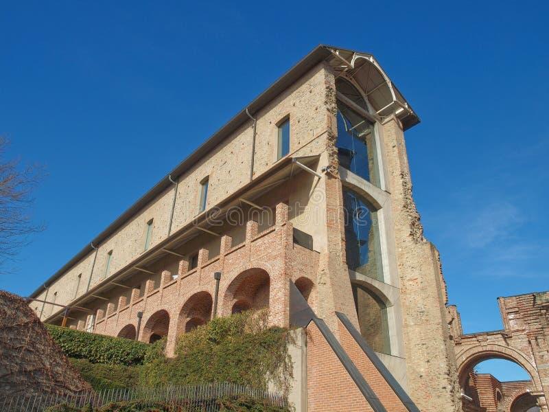 Castello di Rivoli, Itália imagens de stock