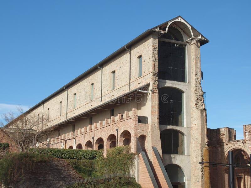 Castello di Rivoli, Italia immagini stock