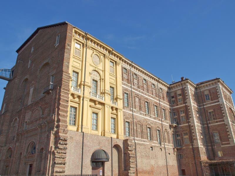 Castello di Rivoli, Italien lizenzfreie stockbilder