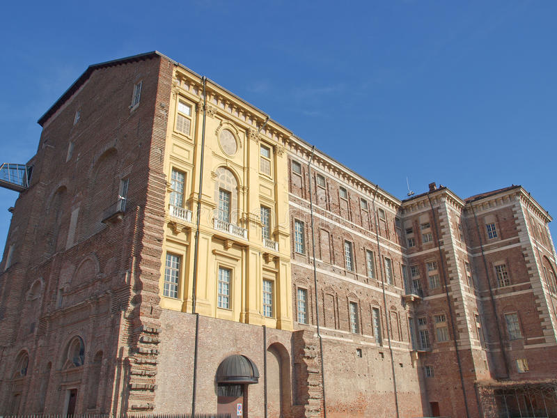 Castello di Rivoli, Italy. Castello di Rivoli castle near Turin, Italy royalty free stock images
