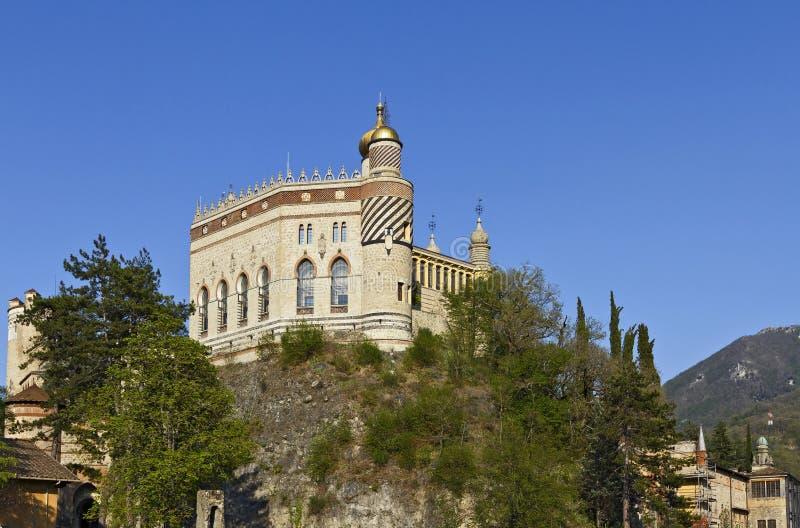Castello di Rocchetta Mattei della La immagini stock libere da diritti