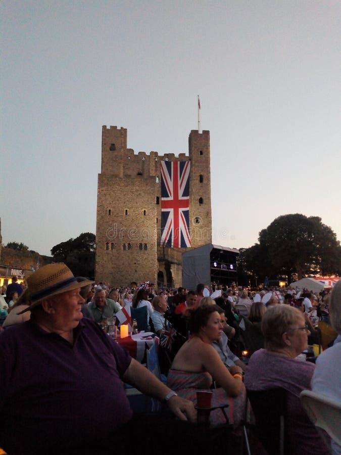 Castello di Rochester fotografia stock