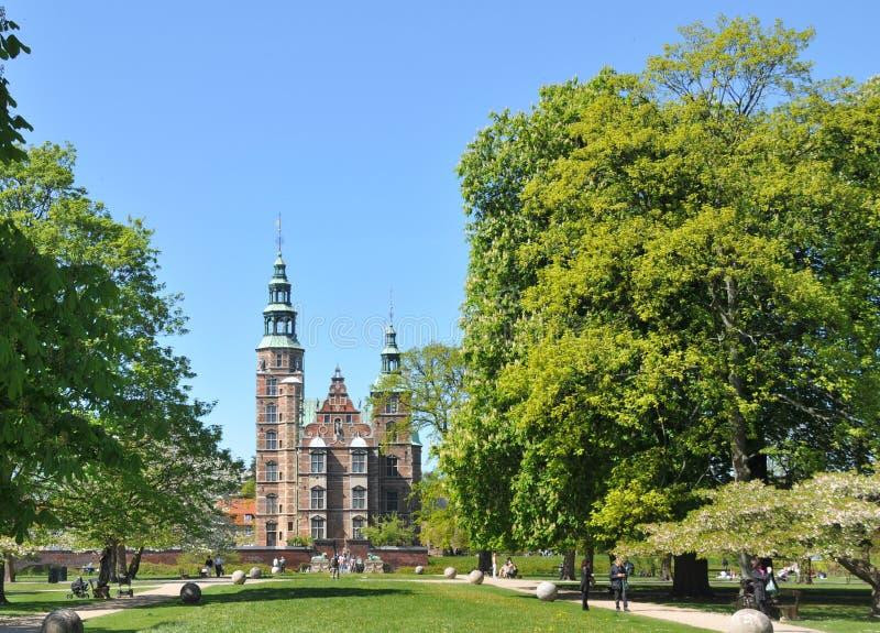 Castello di Rosenborg fotografia stock libera da diritti