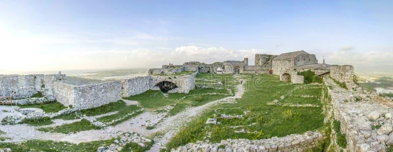 Castello di Rozafa - Shkodra - Albania fotografie stock libere da diritti