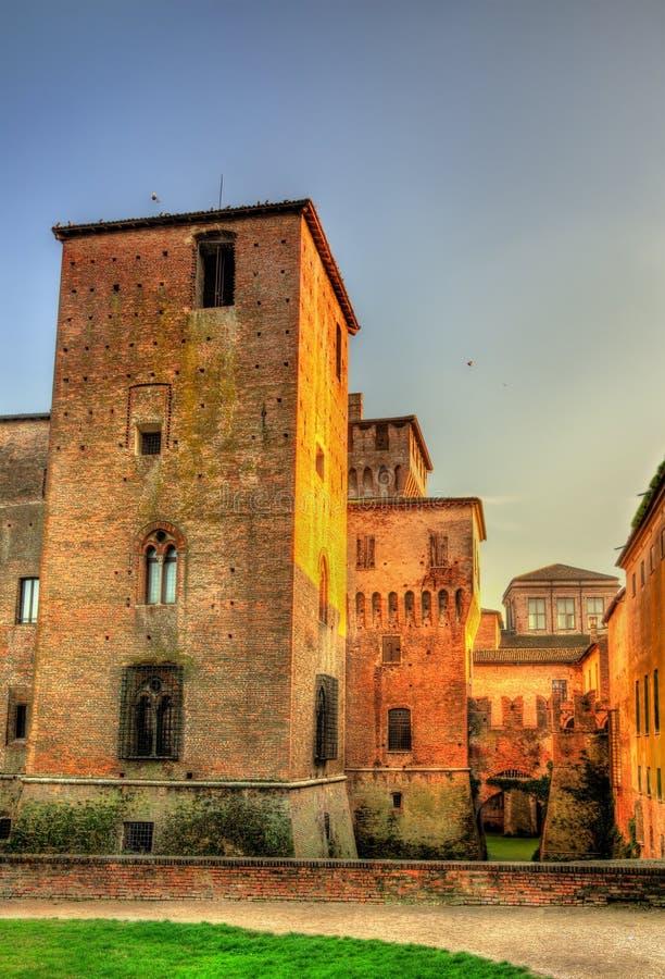 Castello di San Giorgio i Mantua arkivbilder