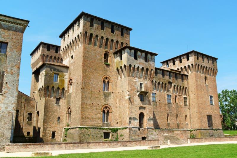 Castello Di San Giorgio, Palazzo Ducale (Hertogelijk Paleis) in Mantua royalty-vrije stock afbeeldingen