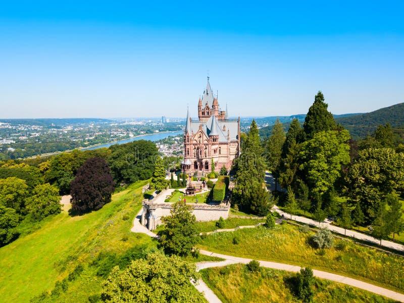 Castello di Schloss Drachenburg vicino a Bonn immagine stock