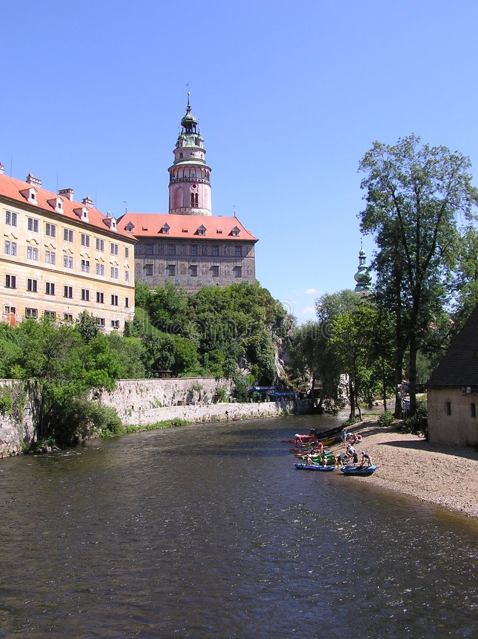Castello di Schwarzenberg fotografia stock