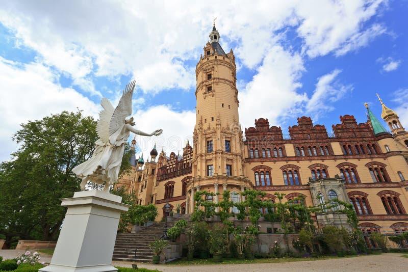 Castello di Schwerin immagini stock