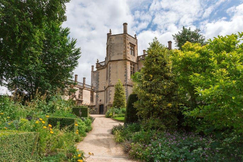 Castello di Sherborne fotografia stock
