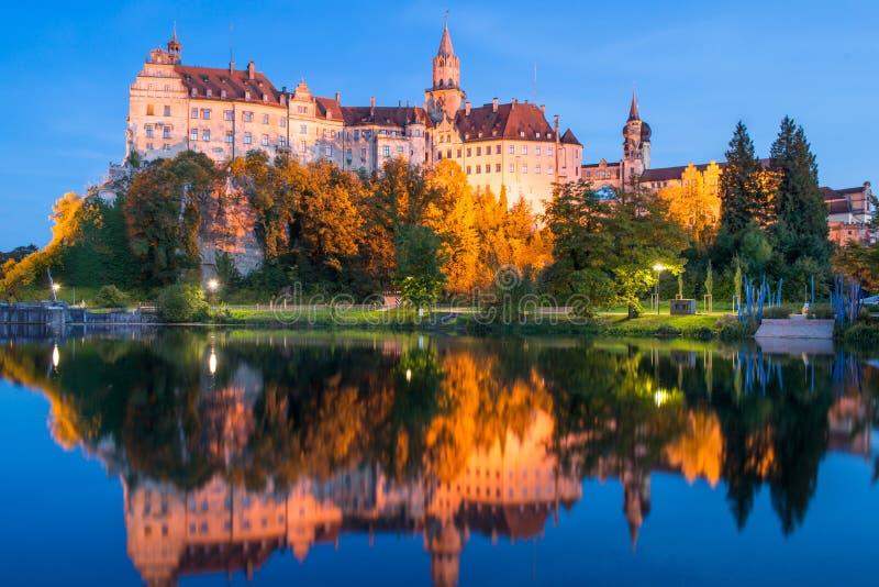 Castello di Sigmaringen fotografie stock