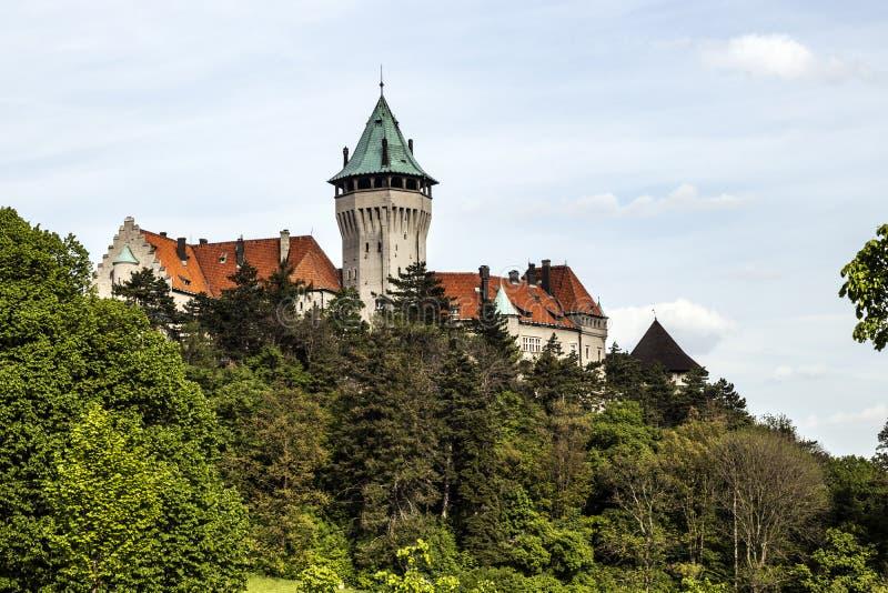 Castello di Smolenice, centro congressi dello SRS - sviluppato nel XV secolo immagini stock libere da diritti