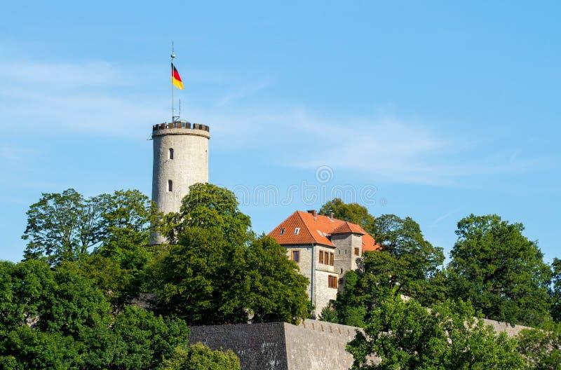 Castello di Sparrenburg a Bielefeld immagine stock