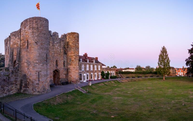 Castello di Tonbridge nel settembre 2019 fotografie stock libere da diritti