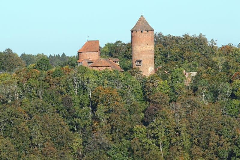 Castello di Turaida fotografia stock